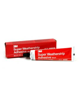 3M Super Weatherstrip Adhesive (Black)