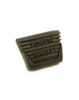 1963-1967 Corvette w/Manual Trans Brake Pedal Pad (Power Brake)