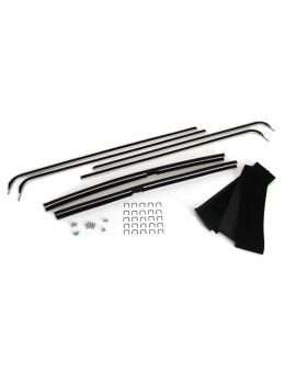 56-62 Deluxe Door Glass Window Channels & Seal Kit