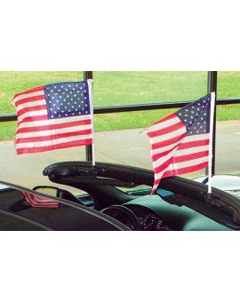 1987-1996 Corvette Cpe Flag Caddie