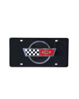 C4 Lazer Tag Acrylic License Plate