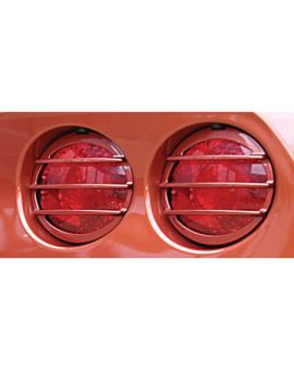 2005-2013 Corvette Altec Phantom Tail Light Grills