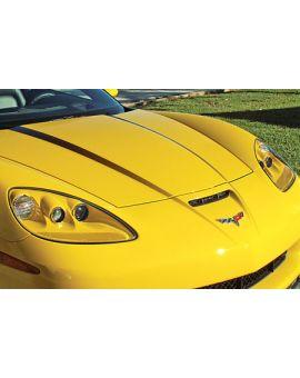 2005-2013 Corvette Sport Fade Hood Graphic