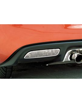 2005-2013 Corvette Stainless Back-Up Light Covers