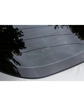 05-13 Rear Cargo Shade w/Embroidered C6 Emblem