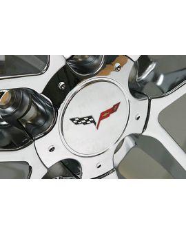 05-13 C6 Corvette Emblem Small/Wheel Decal Set