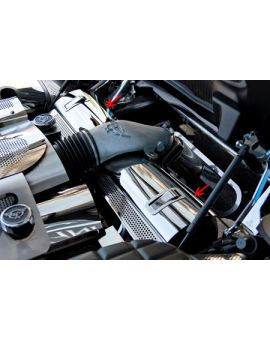 1997-2004 Corvette Polished Stainless Radiator Cover