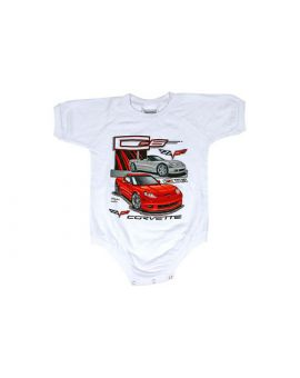 Kids C6 Corvette Onesie