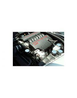 2005-2013 Corvette w/Auto 5pc Chrome Engine Cap Set