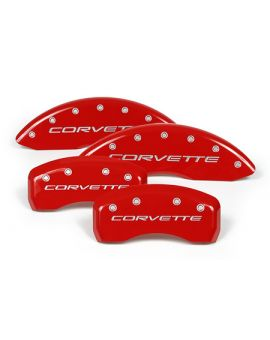 "1997-2004 Corvette Brake Caliper Covers w/""Corvette"""