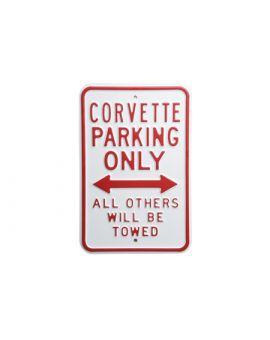Corvette Parking Sign