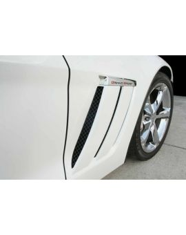 2010-2013 Corvette GS Blakk Stealth Laser Mesh Side Vent Grills - 6pc