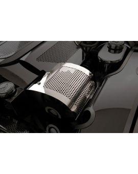 1997-2004 Corvette Perforated Stainless Alternator Cover