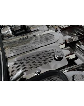 1999-2004 Corvette Perforated Stainless Fuel Rail Covers