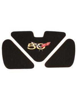1998-2004 Corvette Trunk Lid Inserts w/50th Anniversary Logo