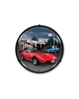 1974 Corvette Lighted Clock