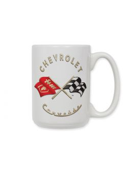 C1 Corvette Emblem Ceramic Coffee Mug