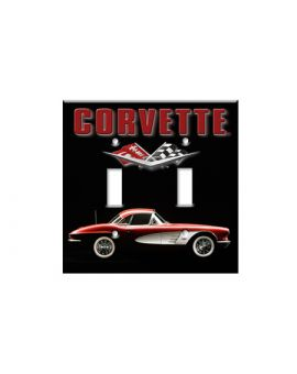 Early Corvette Switch Plate Cover