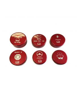 97-04 6-Speed Painted Engine Cap Set w/Graphics