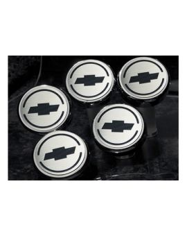 2005-2013 Corvette Executive Engine Cap Cover Set w/Chevy Bowtie (5-piece)