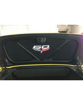 2005-2013 Corvette Conv Trunk Lid Insert w/C6 60th Emblem