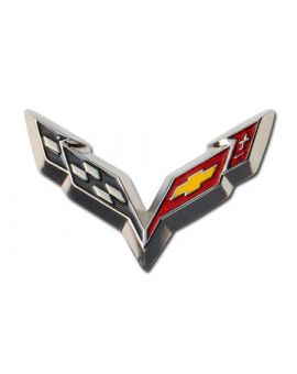 C7 Corvette Beveled Lapel Pin