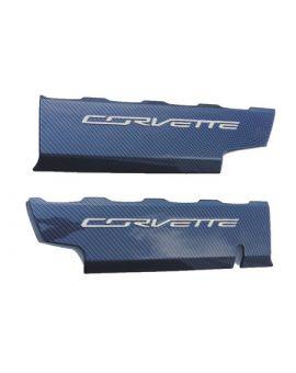 """2014-2018 Corvette Hydro Carbon """"Smoothie"""" Fuel Rail Covers"""