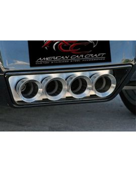2014-2018 Corvette w/NPP & Dual Mode Exhaust Filler Panel