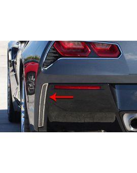 2014-2018 Corvette Matrix Series Rear Valance Panel Grilles