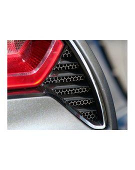 2014-2018 Corvette Matrix Series Tail Light Bezel Inserts