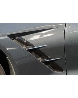 "2014-2018 Corvette Chrome ""Retro Style"" Side Spears"
