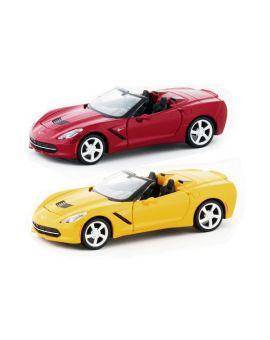 1:24th 2014 Corvette Stingray Convertible Die Cast