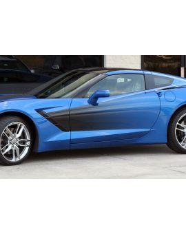 2014-2018 Corvette Side Fender Sport Fade Graphic