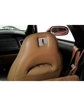 97-13 Seat Back Release Lever Stainless Trim