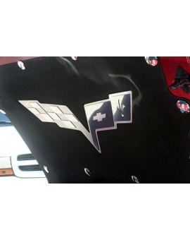 05-13 Stainless Hood Liner Emblem