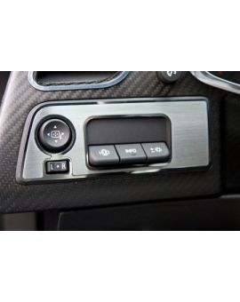 14-18 Coupe Stainless Mirror Control/HUD Trim Plate