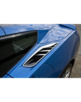 14-18 Polished Stainless Rear Quarter Vent Covers