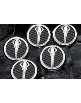 "14-18 w/Auto Engine Cap Covers w/ ""Stingray"" Emblem (5pc) (Accessory Color)"