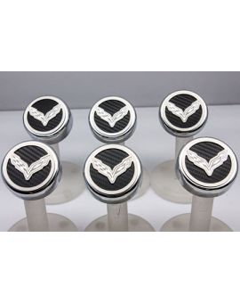 "14-18 w/Manual Engine Cap Covers w/ ""Cross Flags"" Emblem (6pc) (Accessory Color)"