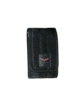 "Black Nylon Phone Holder (2"" x 3.75"") (Default)"