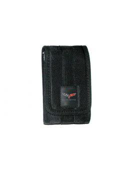 "Black Nylon Phone Holder (2.5"" x 4.5"") (Default)"