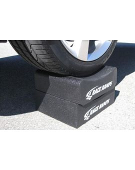 """Race Ramps Adjustable Height 12"""" Wheel Cribs (Default)"""