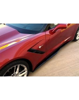 14-18 Z06-Style Side Skirts (Exterior Color)