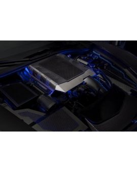 15-18 Z06 Stainless Engine Shroud