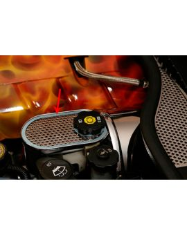 97-04 Perforated Stainless Master Cylinder Cover