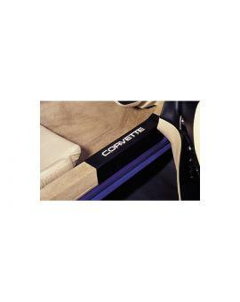 1990-1996 Corvette Sill Protectors (Clear or Black)