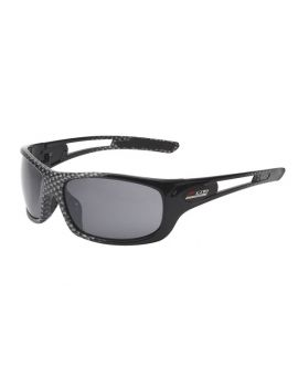 C7 Z06 Corvette Gloss Black/Carbon Fiber Full Frame Sunglasses (Rx Capable) (Default)