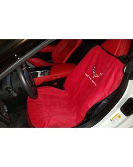 14-18 Seat Armour Cover w/ C7 Emblem