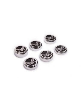 16-18 Manual Engine Cap Set w/ Grand Sport Script (6pc)