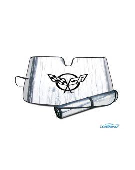 97-04 Windshield Roll-Up Sun Shield w/Emblem